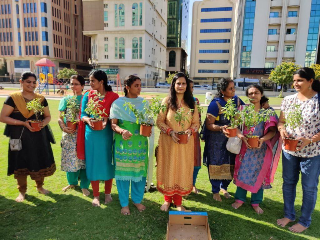Tulsi Poojan Diwas Sharjah UAE