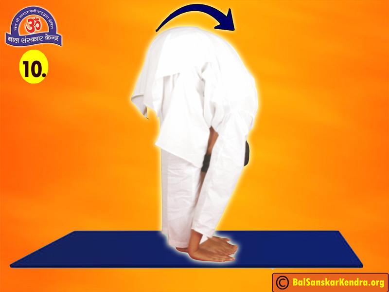 Surya Namaskar Step 10