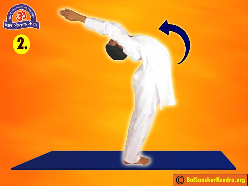 Surya Namaskar Step 2