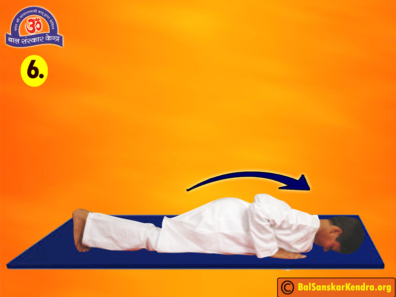 Surya Namaskar Step 6